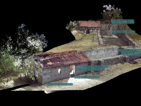 Santa Ynez Valley Union High School Scans the Santa Inés Mission Mills in 3-D!