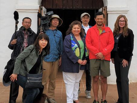 Japanese Film Crew Charts the Course of 19th Century Boatman at El Presidio SHP