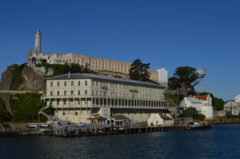 Approach to Alcatraz Island. Photo by Mike Imwalle.