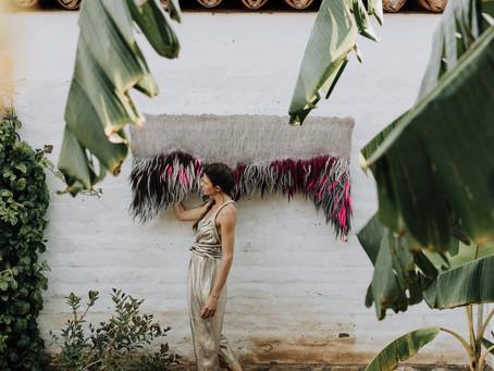 Wool Artist Taiana Giefer Installs Tapestry Series at El Presidio SHP