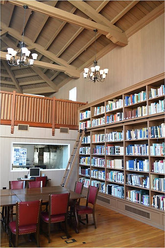 Presidio Research Center reading room.  Photo by Michael H. Imwalle.