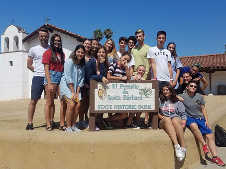 EF School International Students Tour El Presidio SHP!