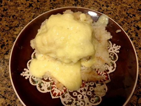 Cooking with a Pinch of History: Apple Spice Dumplings with Cooked Custard