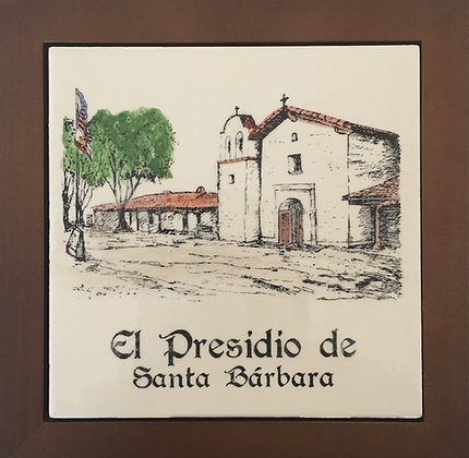 Presidio Tile - Hand Painted
