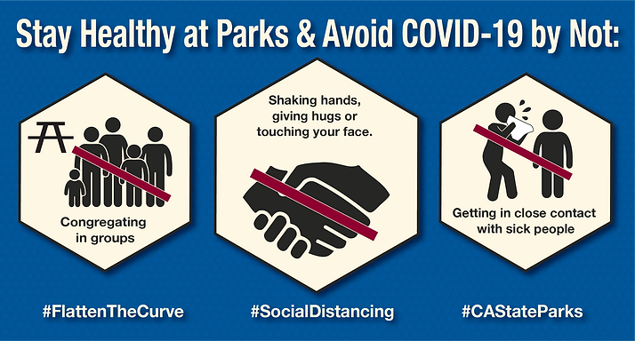 SP_Stay Healthy at Parks and  Avoid COVI