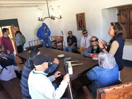 The Braille Institute Visits El Presidio SHP!