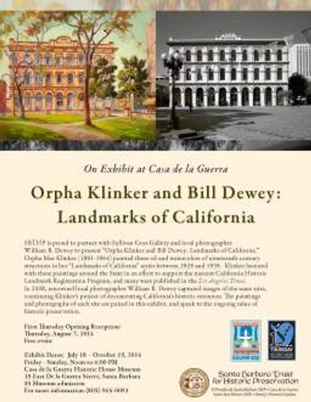 Klinker and Dewey flyer