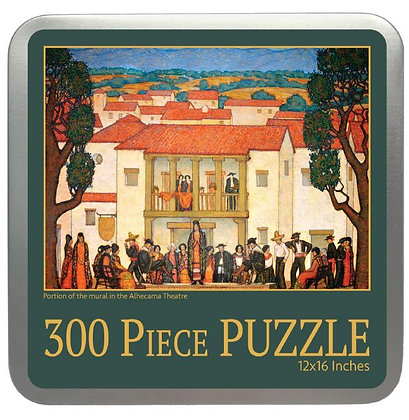300 Piece Puzzle of a Portion of the Alhecama Theatre Mural