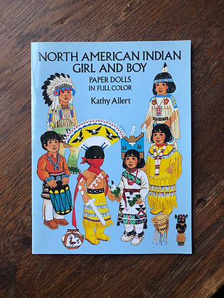 North American Indian Girl and Boy (paper dolls)