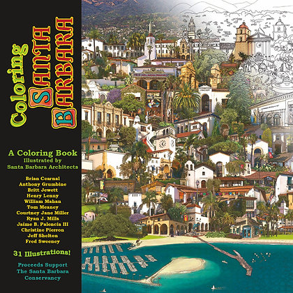 Coloring Santa Barbara