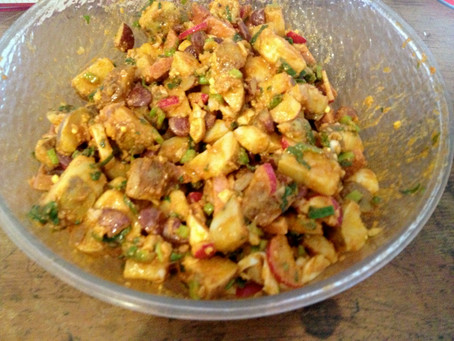 Cooking with a Pinch of History: Ensalada de Papas