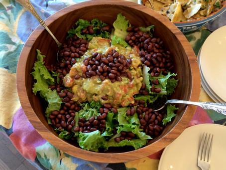 Cooking with a Pinch of History: Ensalada de Guacamole
