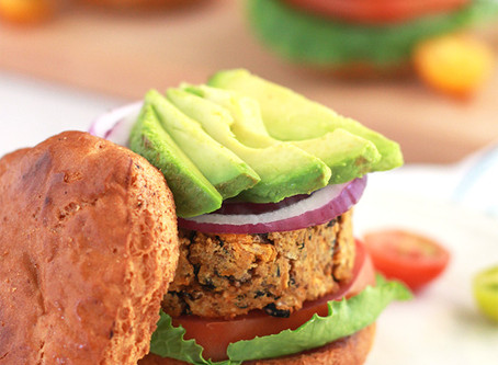 Veggie Burger, With Out The Beans!