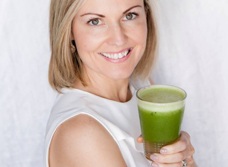 ​MY GREEN MORNING BOOST JUICE RECIPE - ENERGISING