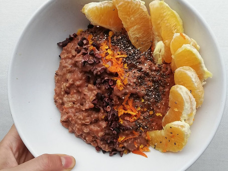CHOCOLATE ORANGE OATS