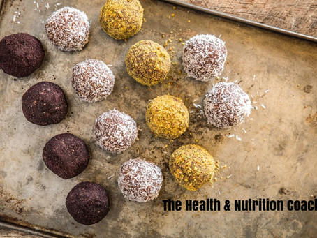 VEGAN, NO BAKE ENERGY BALLS!