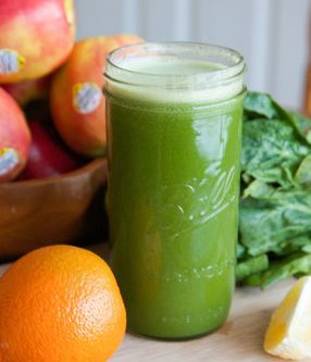 Orange Spinach Juice