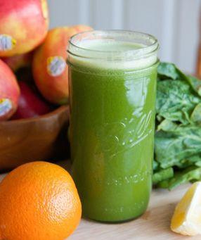 Orange Spinach Juice