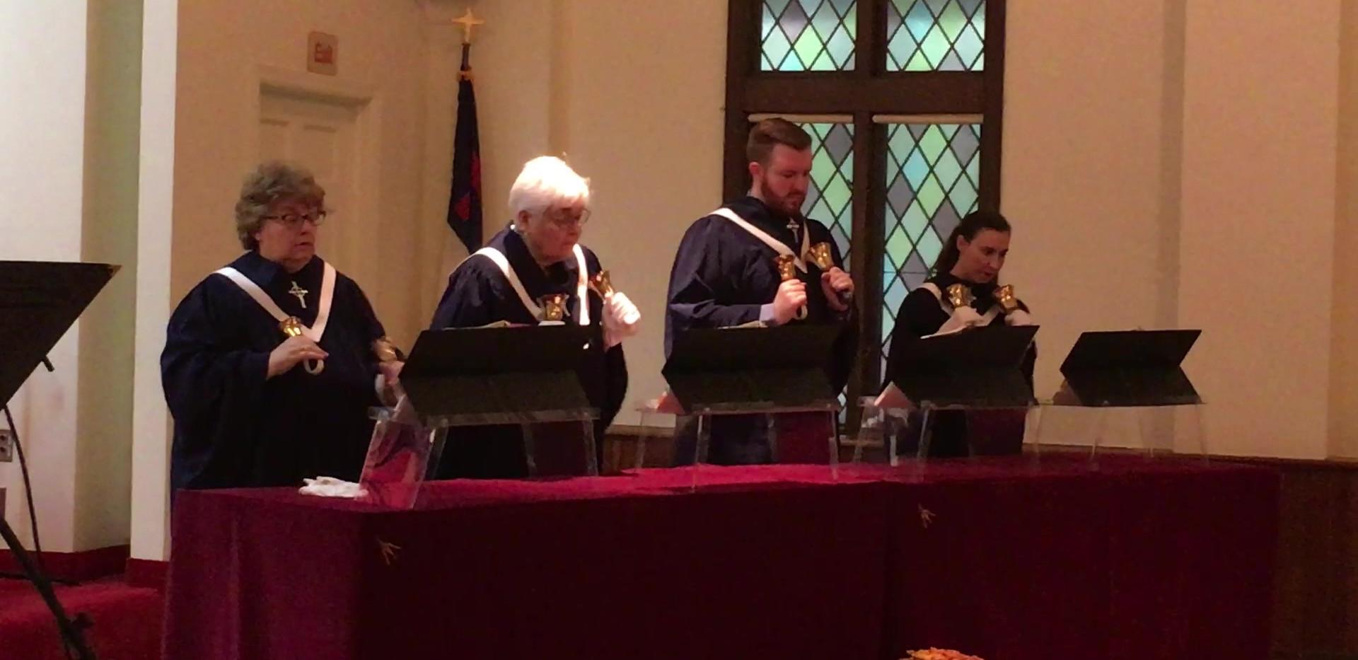Handbell Choir- Palm Sunday 04.14.2019