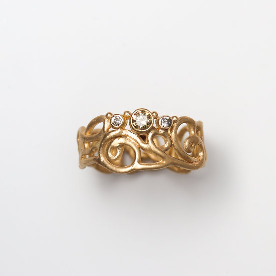 """""""Lacy Doodle Ring"""""""