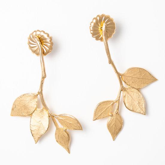 Salal Branch Earrings