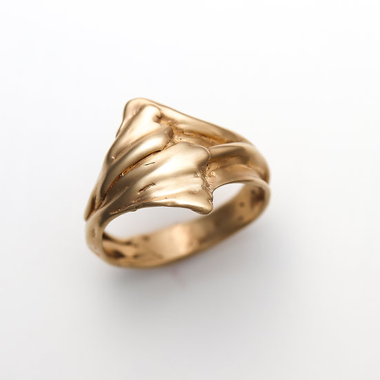 Wrapped Silk Ring