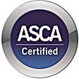ASCA certified seal
