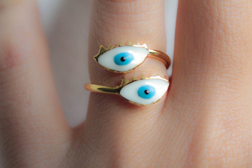 Blue Eyes - Ring
