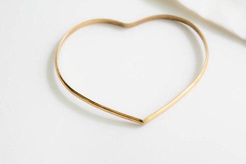 Heart Bangle