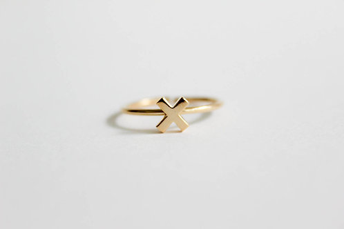 Cross Sign Ring