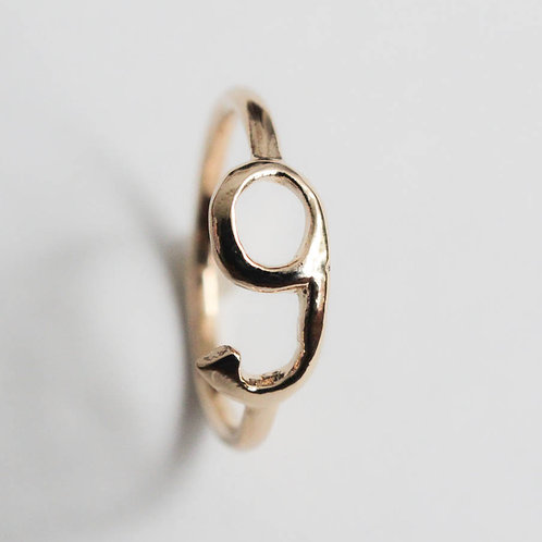 Number nine Ring