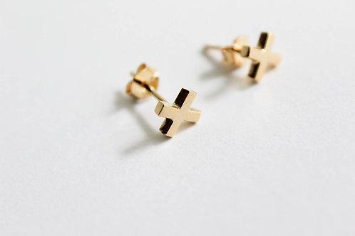 Cross Sign - Earring