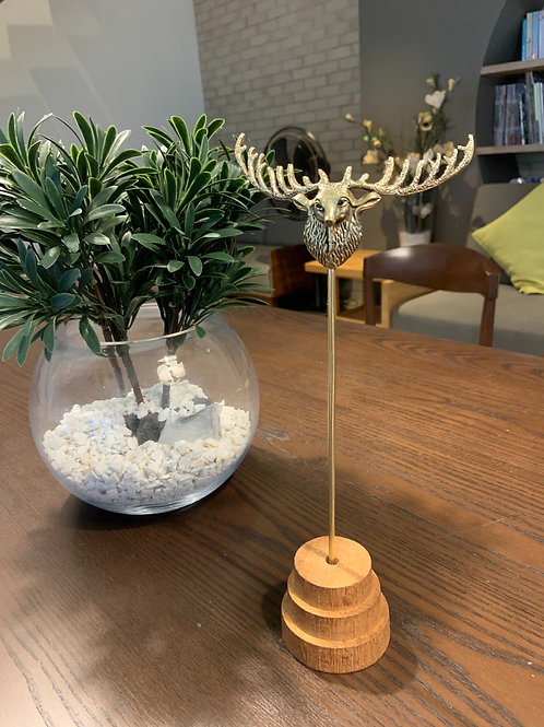Caribou brass stand -C01
