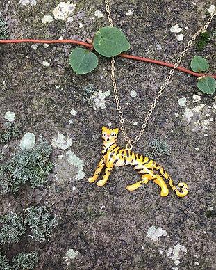 #Tiger#labyrinthvintage#necklace#pendant