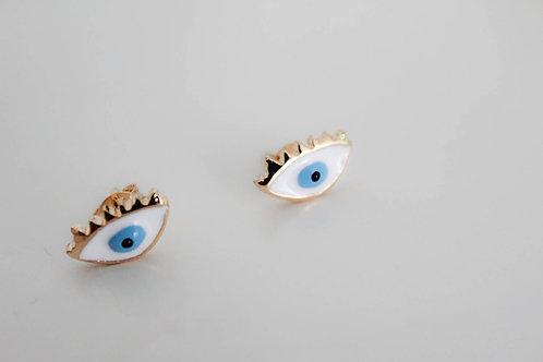 Blue Eyes - Earring