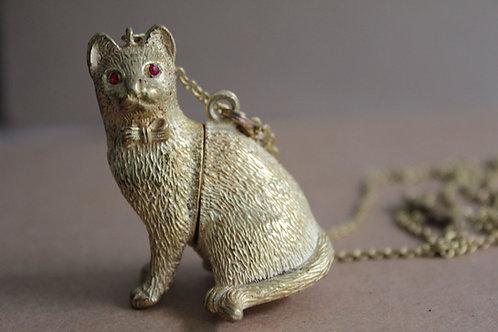 Kitty Locket - Necklace