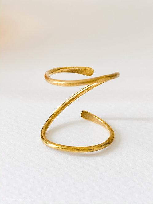 Z wire brass - Ring