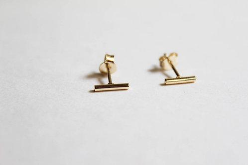 Line Stud Earring