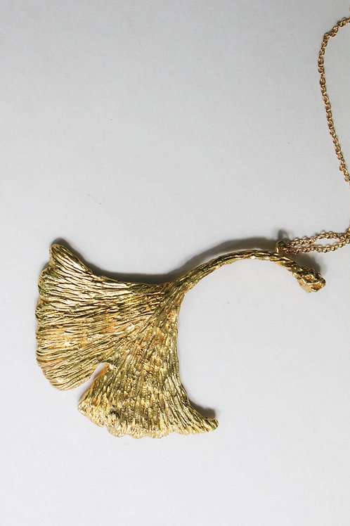 Ginko leaf - Necklace