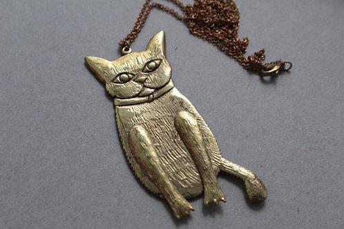 Dummy Cat Necklace