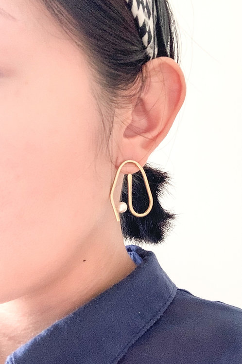 Dany Earring - Brass Earring