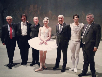 On tour with the Mariinsky Ballet: opening night of Swan Lake at Teatro Regio Torino, December 2018