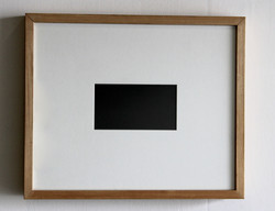 Black Rectangle, 2016
