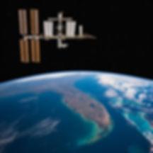 International Space Station over Florida