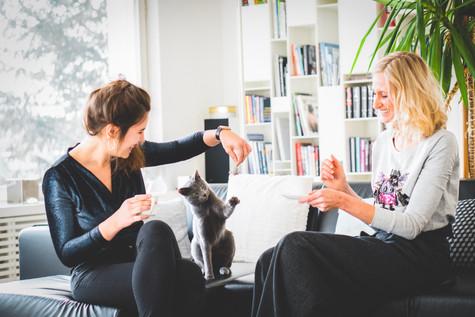 """Eine Powerfrau über ihr Start-Up, ihre App """"blepi"""" und ihre Katzen"""
