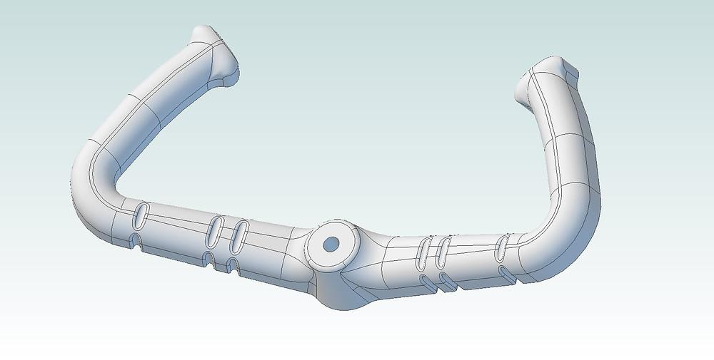 CAD Model of DHC-2 Beaver Control Yoke