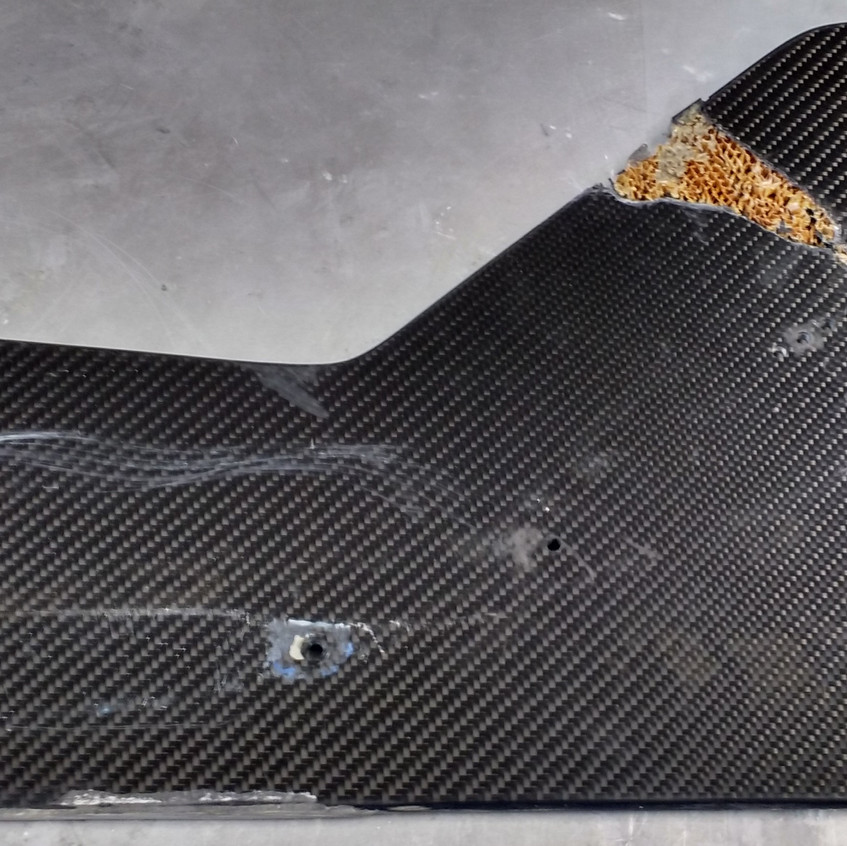 Formula 3 Front Wing Fin