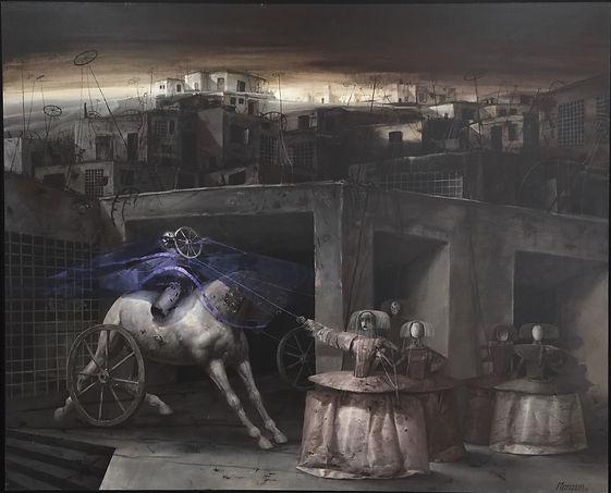 La ciudad oxidada David Manzur .jpg