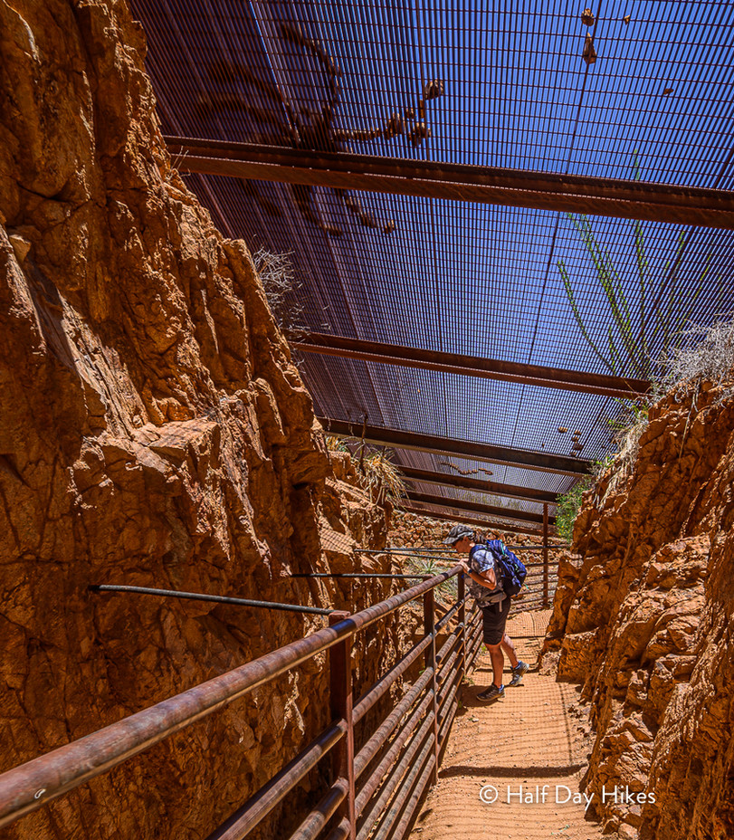 El Paso Tin Mine Viewing Platform