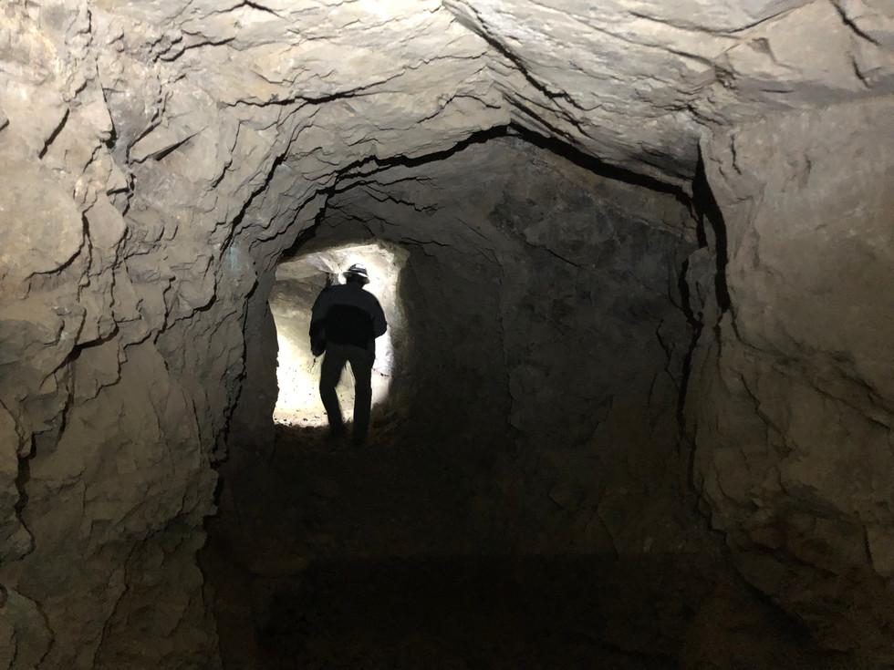 Tunnel inside Prospect Mine